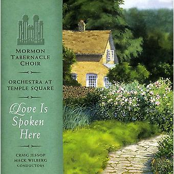 Mormon Tabernacle Choir - Love Is Spoken Here [CD] USA import