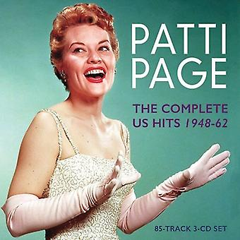 Patti Page - importation USA Page Patti-complet nous Hits1948-62 [CD]