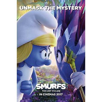 Smurfs The Lost Village Movie Poster (11 x 17)