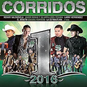Various Artist - Corridos #1's 2016 (Walmart) [CD] USA import