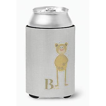Carolines Treasures  BB5727CC Alphabet B for Bear Can or Bottle Hugger