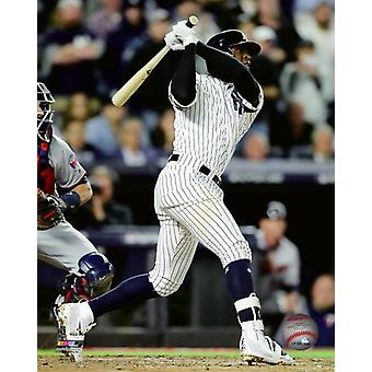 Home Run Didi Gregorius 3 uruchomić 2017 American League dziką kartę gry Photo Print