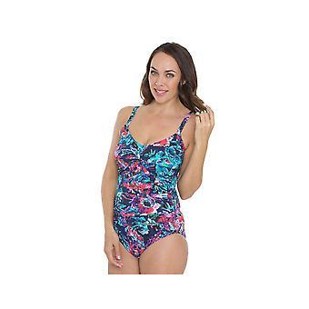 Seaspray SY007048 vrouwen meerkleurig motief kostuum een stuk zwembroek