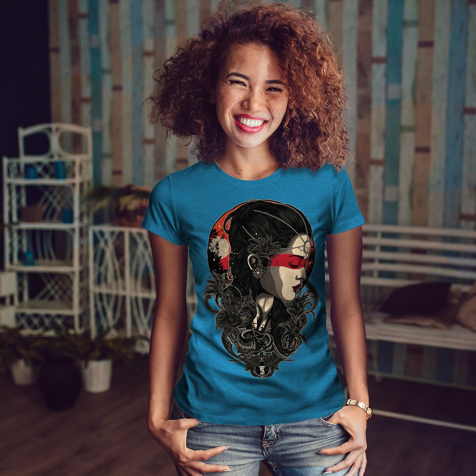 Belle fille Fantasy Royal BlueT-chemise femme | Wellcoda