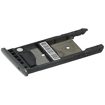 Support de carte SIM + microSD plateau pour Lenovo, Moto Moto G5 G5 Plus-noir