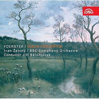 J.B. Foerster - Josef Bohuslav Foerster: Violin Concertos [CD] USA import