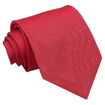 Strawberry Red Panama Silk Classic Tie
