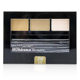 Maybelline Brow Drama Pro Palette - 250 dollari bionda - 2.8g/ 0.1oz