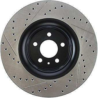 StopTech 127.61114L Sport Drilled/Slotted Brake Rotor (Front Left), 1 Pack