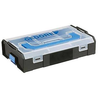 Tool box (empty) Gedore 2950529 Plastic Black, Transparent
