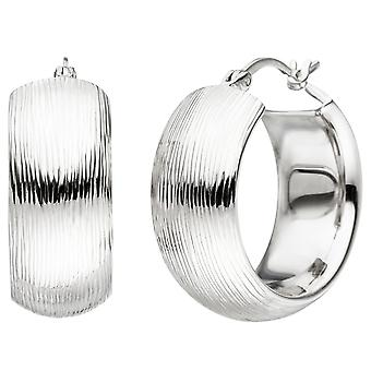 Hoops wide 925 sterling silver with tree earrings kitchen