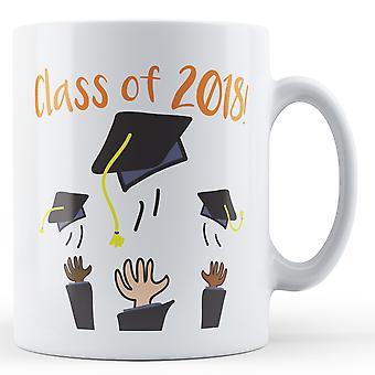 Clase de la graduación de 2018 - taza impresa