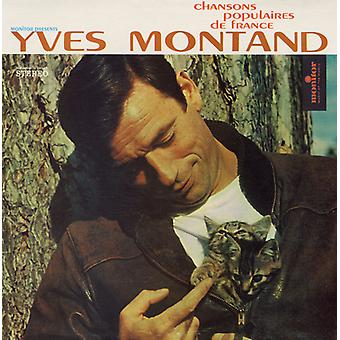 Yves Montand - Chanson Populaires De France: Yves Montand [CD] USA import