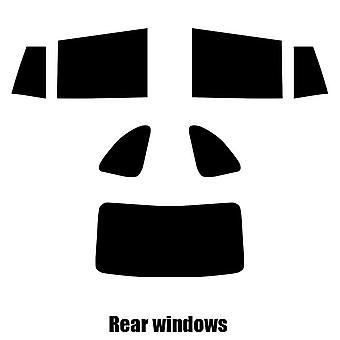 Pre cut window tint - Kia Rio Estate - 2000 to 2004 - Rear windows