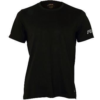"Polo Ralph Lauren væske bomulds Jersey ""POLO RL"" T-Shirt, olivengrøn"