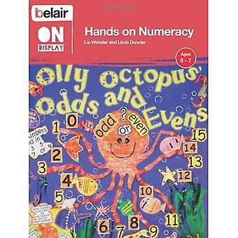 Belair sul Display - mani su Numeracy età 5-7