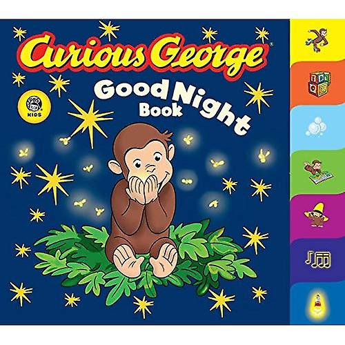 Curious George Good Night Book: A Tabbed Board Book (Curious George Board Books)