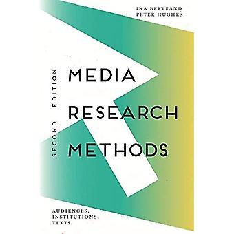 Media Research Methoden: Zielgruppen, Institutionen, Texte