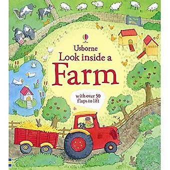 Kijkje in een boerderij (Usborne kijkje in)
