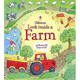 Look Inside a Farm (Usborne Look Inside)