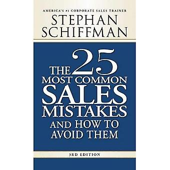 25 Most Common Sale Mistakes, 3rd Edition