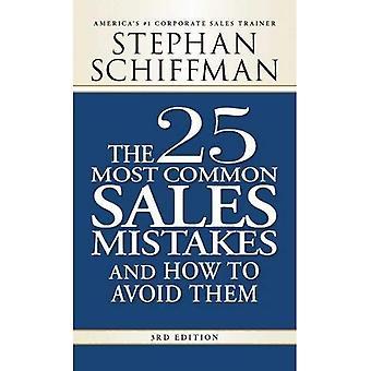 25 erros de venda mais comuns, 3ª edição