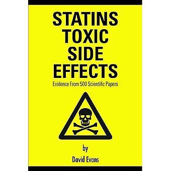Les effets secondaires statines toxiques: Evidence from 500 articles scientifiques (cholestérol)
