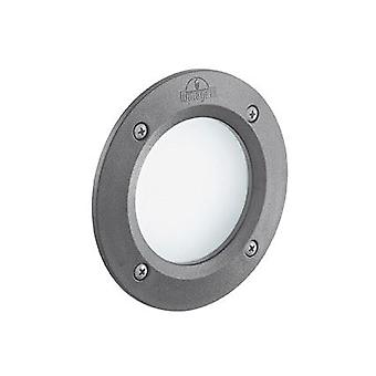 Ideal Lux - Leti Round Grey LED Recessed Light IDL096568