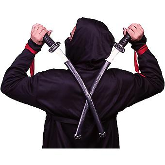 Ninja svärd dubbel