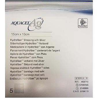 AQUACEL AG DRESSING 15CMX15CM S7507AG 5