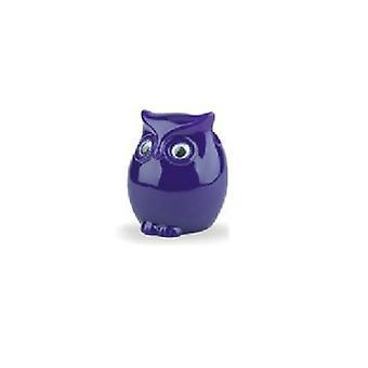 Vidrios soporte buho púrpura