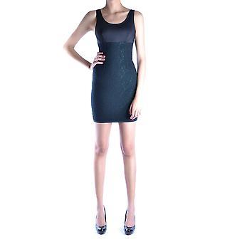 Bikkembergs Ezbc101007 Women's Black Polyester Dress