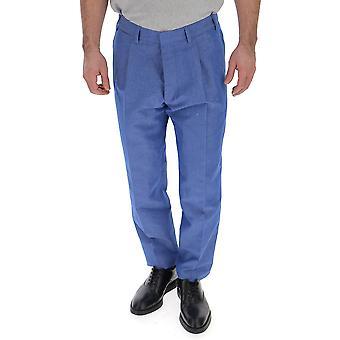 The Gigi Tongazk225600 Men's Light Blue Cotton Pants