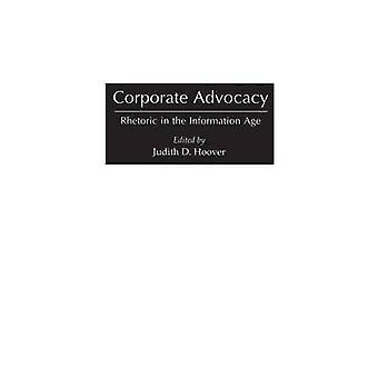 Retorica di Advocacy aziendale nell'era dell'informazione di Hoover & Judith