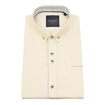 Guide London Pure Cotton Soft And Light Texture Men's Short Sleeve Shirt