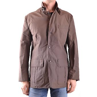 Gant Ezbc144045 Men's Brown Cotton Outerwear Jacket
