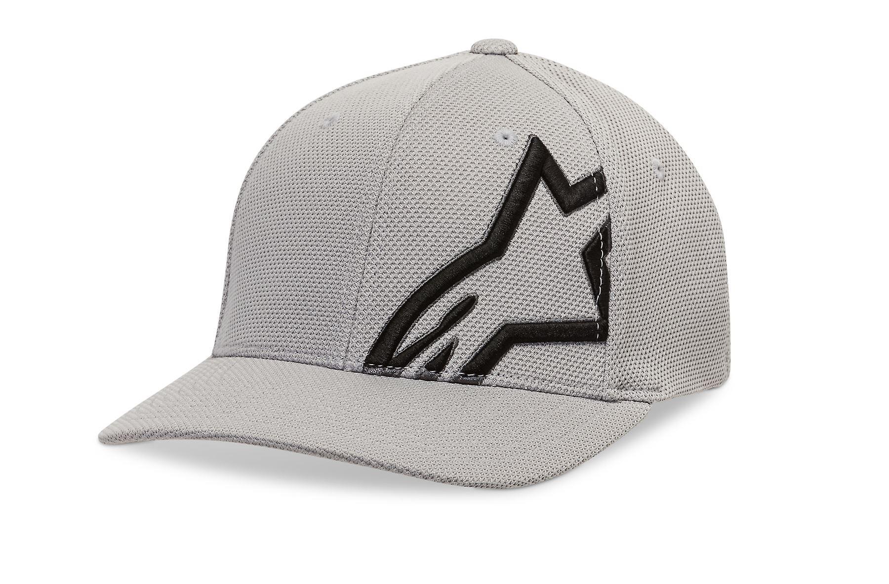 Alpinestars Mens Mock Mesh Curve Cap ~ Corp Shift silver/black