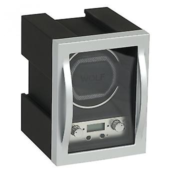 Wolf Designs Module 4.1 Auminum & Glass Single Watch Winder