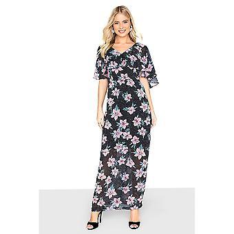 Girls On Film Womens/Ladies Printed Maxi Tea Dress