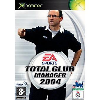 Total Club Manager 2004 (Xbox) [Xbox] - Jeu - Nouveau