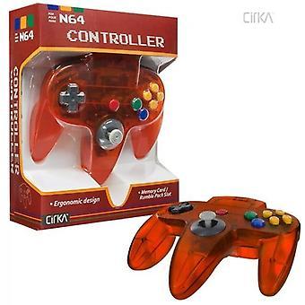 Nintendo 64 N64 cirka controller Clear (brand)