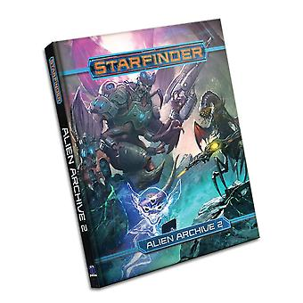 Starfinder Roleplaying Game Alien Archive 2 Book