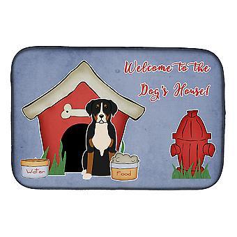 Dog House Collection Suur Sveitsin Mountain Dog Dish kuivaus matto