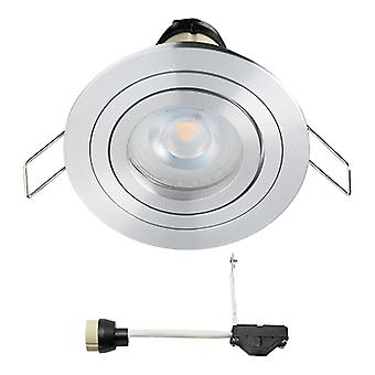 Coblux LED Einbaustrahler | Warmweiß | 5 Watt | dimmbar | Kippen
