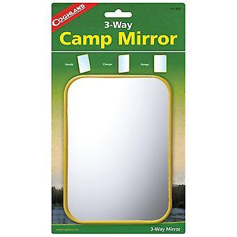 Coghlans Clear Camping spiegel met standaard