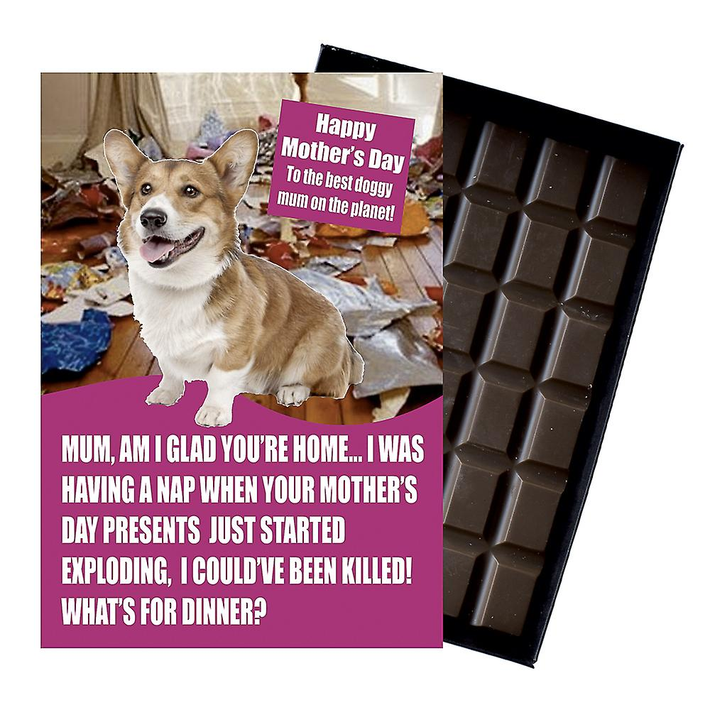 Welsh Corgi Owner Dog Lover Mother?s Day Gift Chocolate Present For Mum