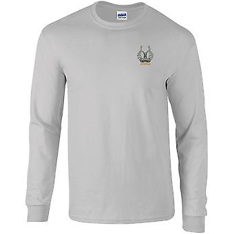 Gordon Highlanders Veteran - Licensed British Army Embroidered Long Sleeved T-Shirt