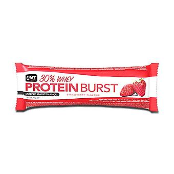 QNT proteín Burst Bar & amp; Energetická Boost Top Up Snack (jahoda) 12 X 70g