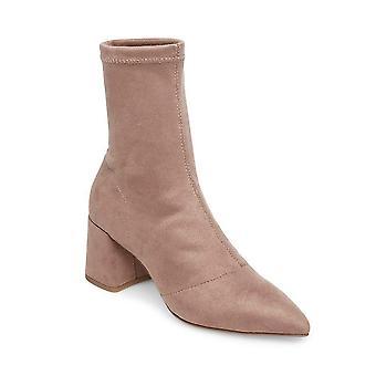Steve Madden Womens respect stof puntige teen enkel mode laarzen