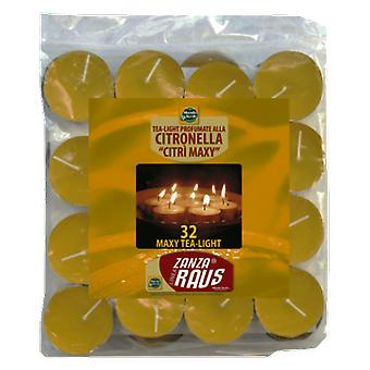 Altadex Tea Light De Citronella Maxy- Bag 32 pieces (Garden , Insect and parasitics)